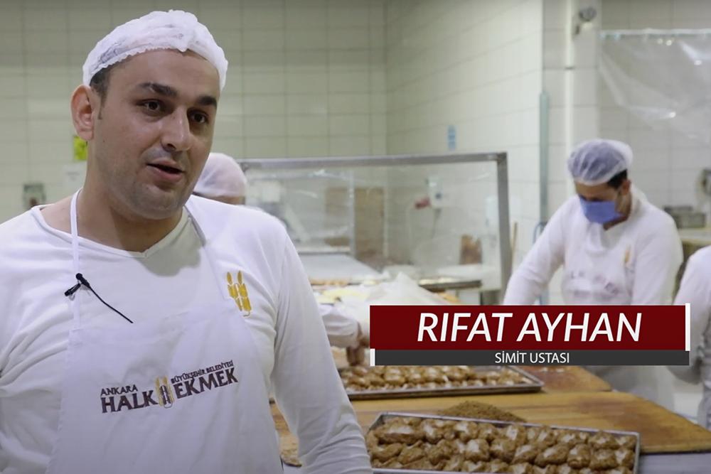 Keşif Haritası Programında Yayınlanan ANKARA SİMİDİ Üretimi Bölümünün Çekimleri Halk Ekmek Fabrikasında yapıldı