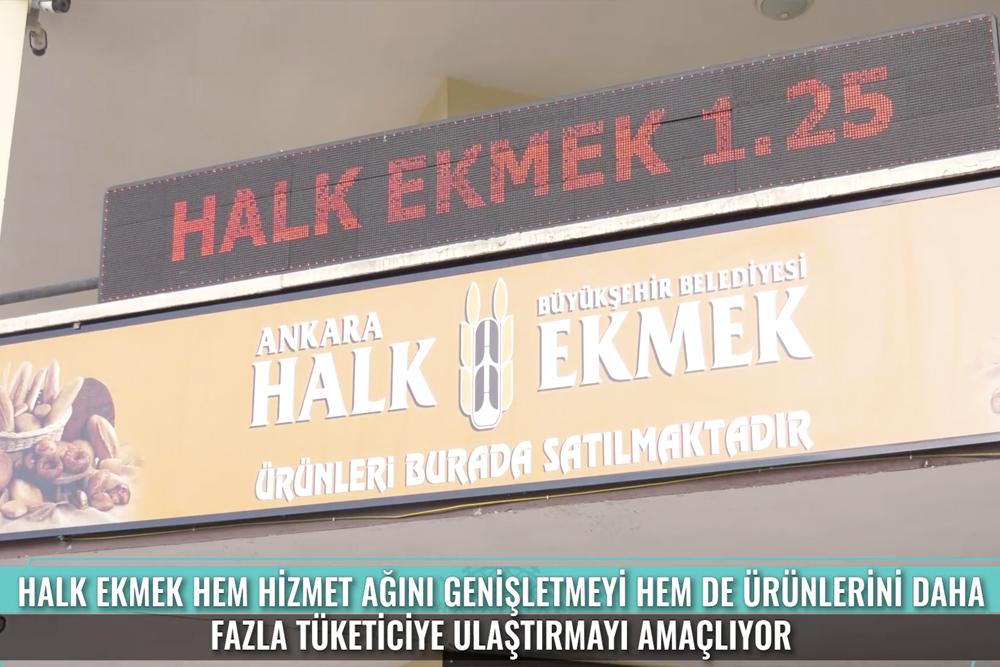 Ankara Halk Ekmek Bayilik Uygulaması