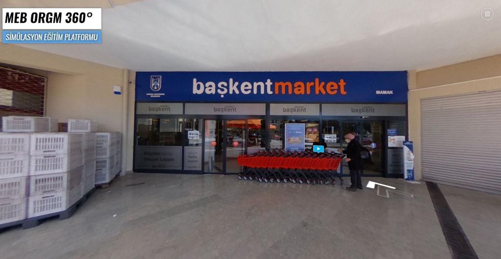 MEB'in eğitim simülasyonu çekimlerine Başkent Market Mamak Şubemiz ev sahipliği yaptı.