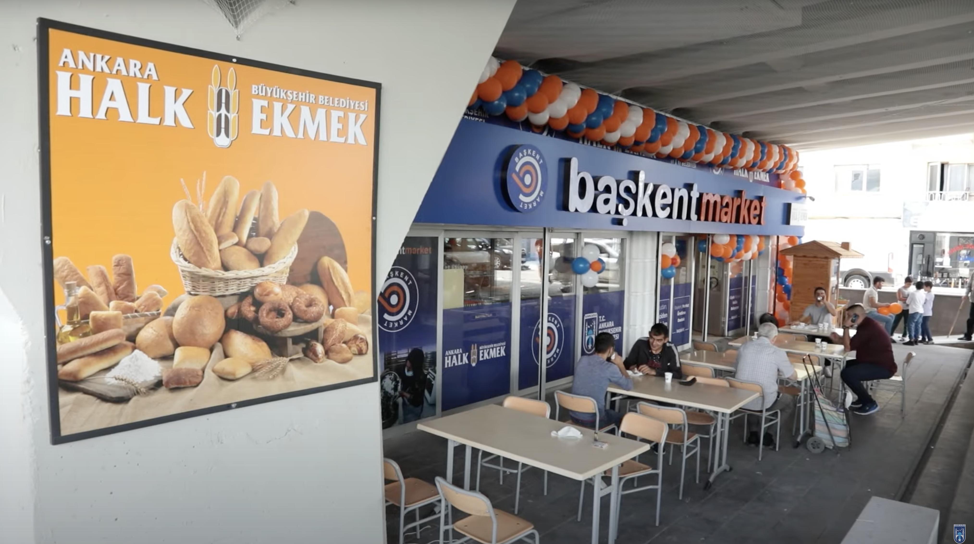 BAŞKENT MARKET'İN 7'İNCİ ŞUBESİ DIŞKAPI'DA AÇILDI